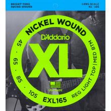 D'Addario EXL165 Electric Bass Strings
