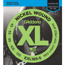 D'Addario EXL165-5 5 String Electric Bass Set