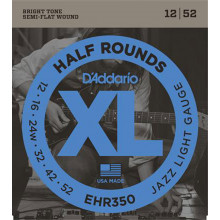 D\'Addario ENR370 Half Round Electric Strings, M