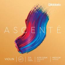 D'Addario A310 Ascente 3/4 Violin Strings