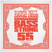 Ernie Ball P01655 Nickel Wound Bass String, 55