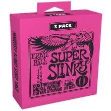Ernie Ball P03223 Super Slinky Triple Pack