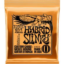 Ernie Ball P02222 Hybrid Slinky Guitar Strings