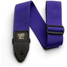 Ernie Ball P04045 Polypro Guitar Strap, Purple