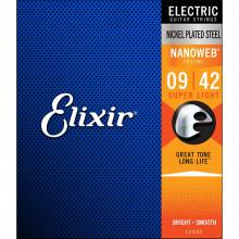 Elixir NanoWeb Electric Super Light Set