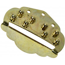 Viking VS-311B Mandolin Tailpiece, Brass