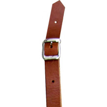 Viking VMS-103 Leather Mandolin Strap, Tan