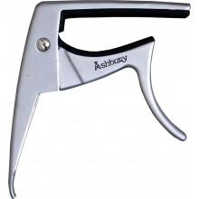 Ashbury AA-3500 Ukulele Capo, Silver Colour