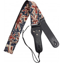 Viking VGS-54 Woven Guitar Strap. UK Funky