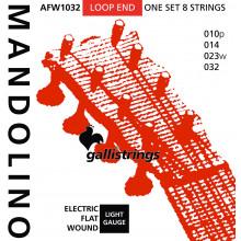 Galli A181 Mandolin Strings, Flatwound