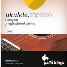 Galli UX-710 Uke Strings, Soprano BioNylon