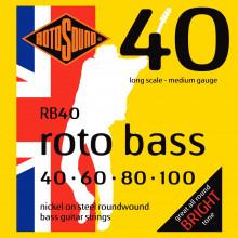 Rotosound RB40 Roto Bass Strings, Hybrid