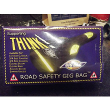 New The Orginal Gig Bag Co, saftey gig bag for bass