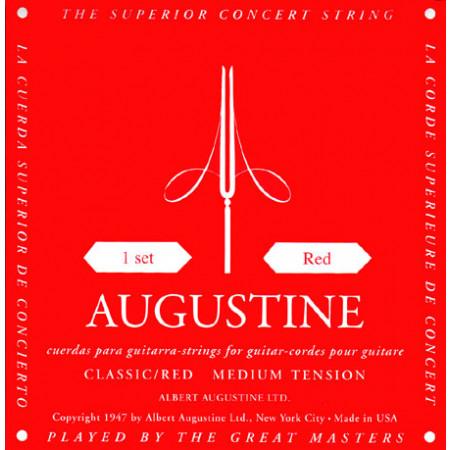Augustine Red Label Guitar String Set