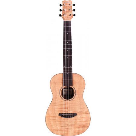 Cordoba Mini II Mini Travel Guitar.Flame Mahog