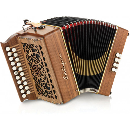 Castagnari Tommy D/G Melodeon, 3 voice