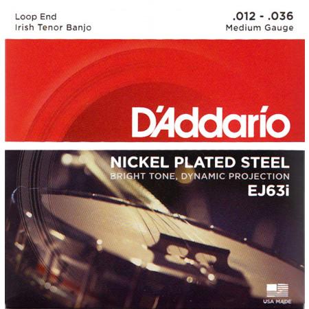 D'Addario EJ63I Irish Banjo Strings