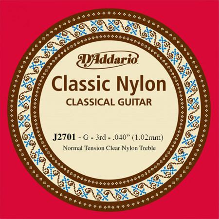 D'Addario EJ27 Single G Nylon String
