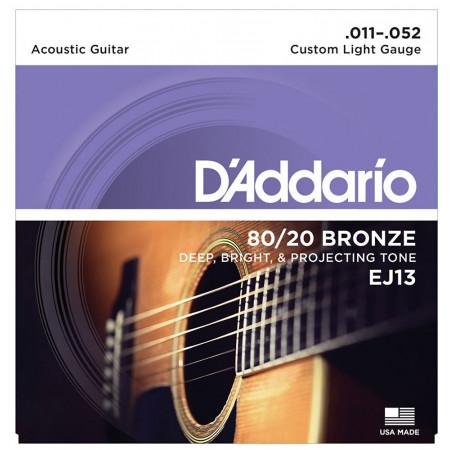 D\'Addario EJ13 Acoustic Guitar Strings