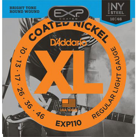 D'Addario EXP110 Coated Electric Guitar String