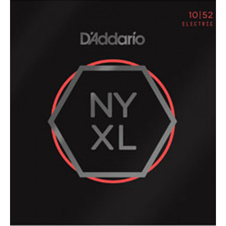 D'Addario NYXL1052 Nickel Wound Electric Strings