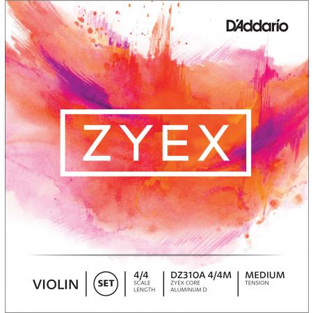 D'Addario Zyex Violin String Set