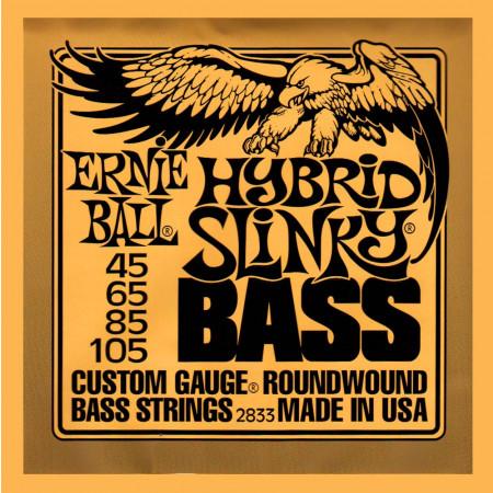 Ernie Ball P02833 Super Hybrid Bass Strings