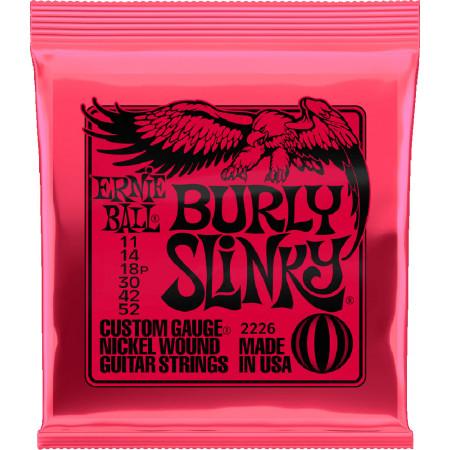 Ernie Ball P02226 Burly Slinky Guitar Strings