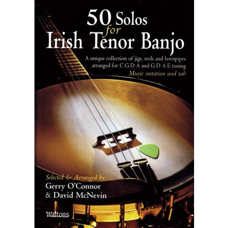 50 Solos for Irish Banjo B&CD
