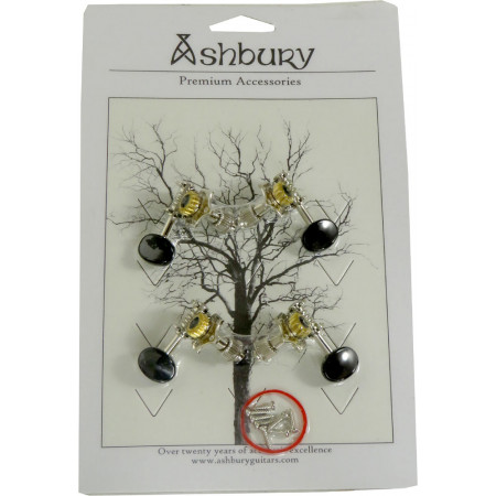 Ashbury AS-2010 Ukulele Machine Heads, Set