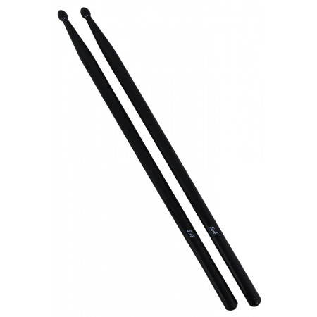 Atlas 5A Black Drum Sticks, Wood Tip