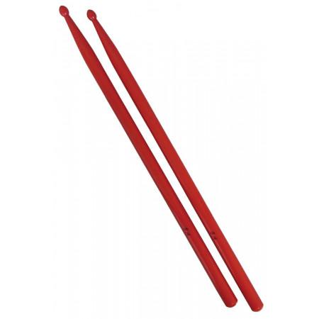 Atlas 5A Red Drum Sticks, Wood Tip