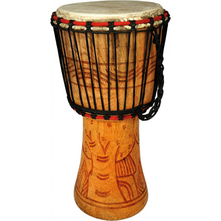 Bucara (By Atlas) Djembe 9inch Head, Cedar Wood