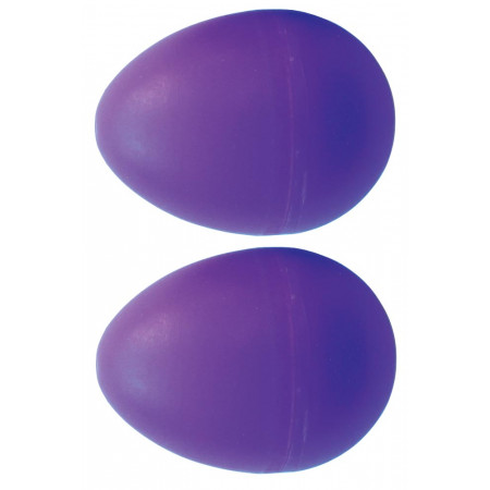 Atlas Pair of Shaky Eggs, Purple