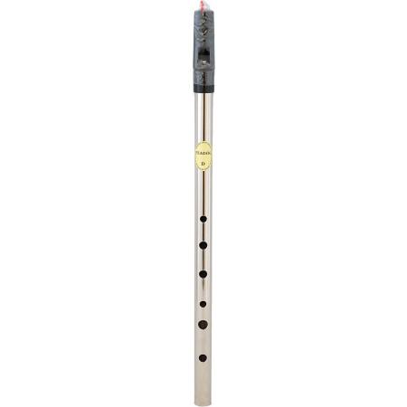 Feadog Nickel High D Whistle, Single