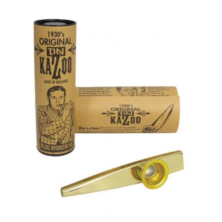 Clarke MKGD Gold Colour Metal Kazoo, Single