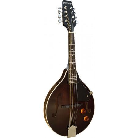 Ashbury AM-10-EK A Style Electro Mandolin, Black