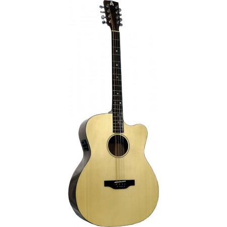 Ashbury Style E Gazouki, Guitar Body