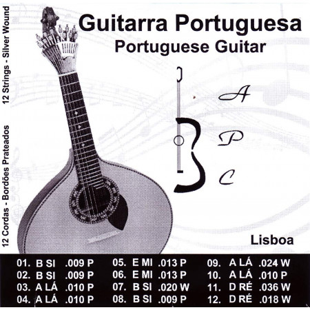 Carvalho Guitarra String Set