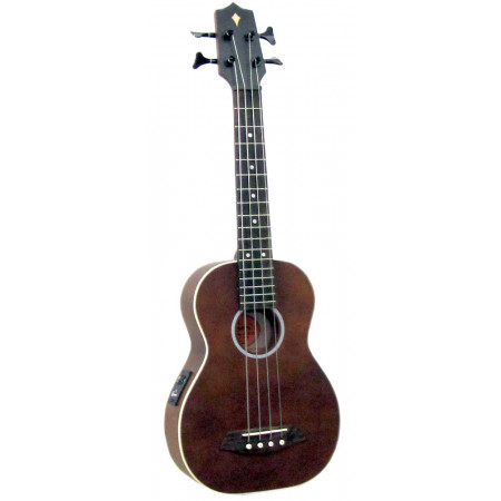 Ashbury AU-90 Bass Ukulele, Solid Spruce Top