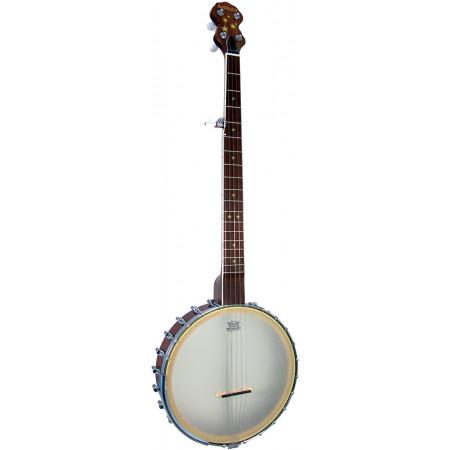 Ashbury AB-85 5 string Banjo, Walnut Rim