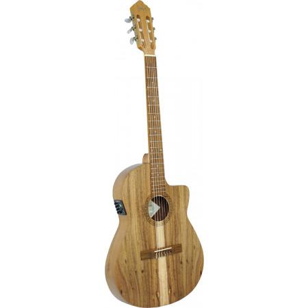 Carvalho Slim Koa Slim Classical Guitar, Koa Koa