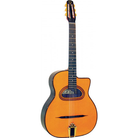 Gitane D-500 Maccaferri Style Guitar, D Hole