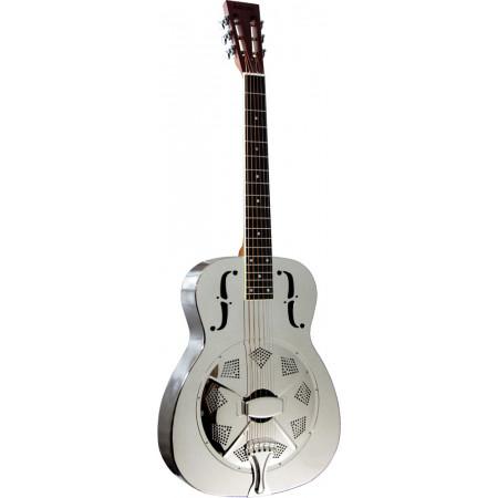Ashbury AR-46 Resonator Guitar, Single Cone