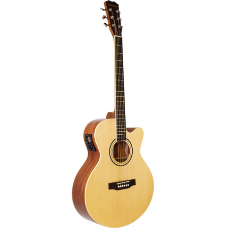 Blue Moon BG-34E Electro Acoustic Guitar, Nat