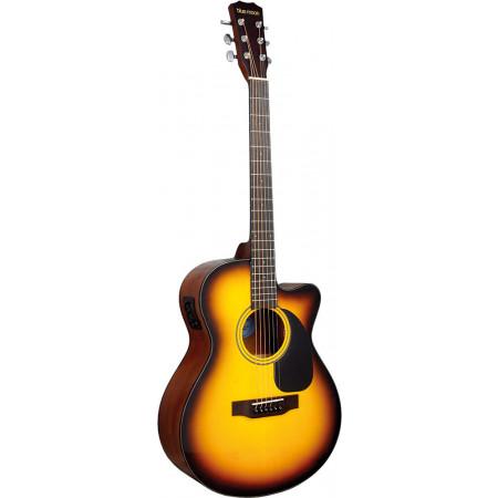 Blue Moon BG-34ET Electro Acoustic Guitar, S/B