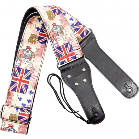 Viking VGS-50 Woven Guitar Strap. Cards