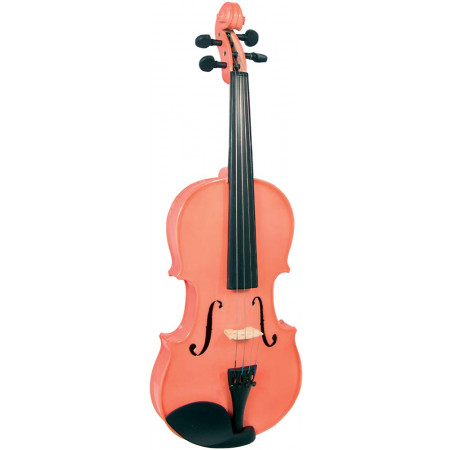 Blue Moon VG-105 Pink Violin, 3/4 Size