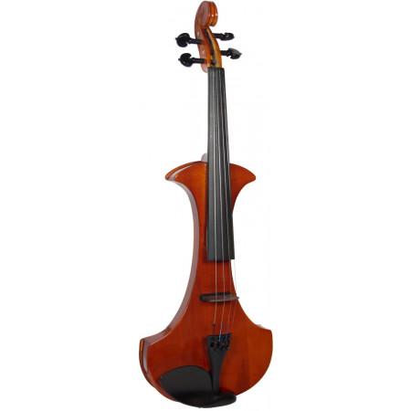 Cremona SV-180E Electric Frame Violin, Outfit