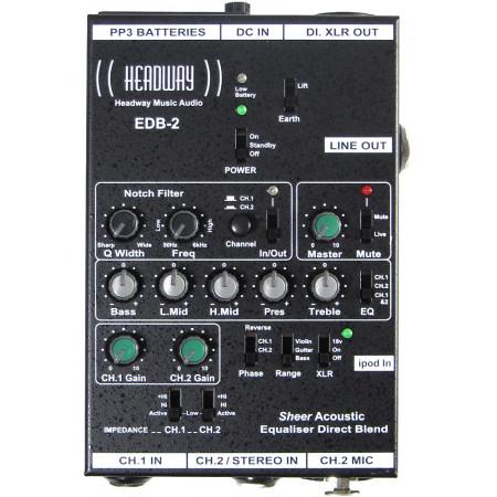 Headway EDB-2 EQ box for Guitar etc